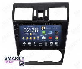 Штатная магнитола Subaru Forester 2013-2016 - Android 8.1 (9.0) - SMARTY Trend