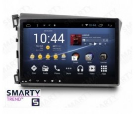 Штатная магнитола Honda CIVIC 4D 2012-2014 - Android 7.1 - SMARTY Trend