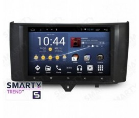 Штатная магнитола Mercedes Benz Smart 2012-2015 - Android 8.1 (9.0) - SMARTY Trend