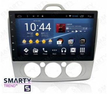 Штатная магнитола Ford Focus II 2009-2011 - Android 8.1 (9.0) - SMARTY Trend