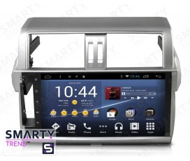 Штатная магнитола Toyota Land Cruiser Prado 150 2014-2016 - Android 6.0 - SMARTY Trend