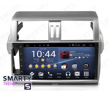 Штатная магнитола Toyota Land Cruiser Prado 150 2014-2016 - Android 4.4 / 5.1 - SMARTY Trend