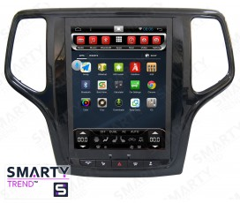 Штатная магнитола Jeep Grand Cherokee 2013+ (Tesla Style) - Android 6 - SMARTY Trend