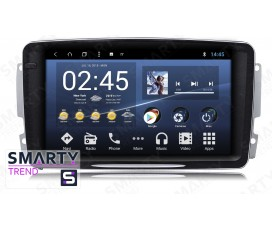 Штатная магнитола Mercedes-Benz C-Class W203 - Android 8.1 (9.0) - SMARTY Trend