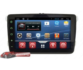 Штатная магнитола Volkswagen Golf 5,6 (V,VI) - SMARTY Trend - Full-touch Android 4+