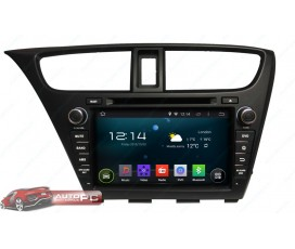 Штатная магнитола Honda Civic 5D 2014 Hatchback - Android 4.4.4 - KLYDE