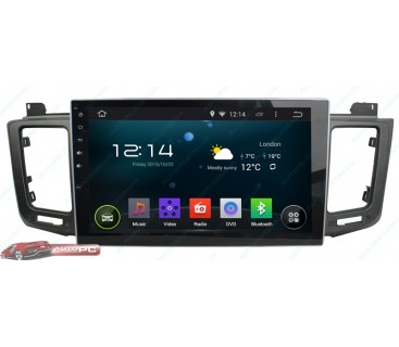 Штатная магнитола Toyota RAV4 2013-2014 - Android 4.4.4 - Full-touch 10.1 - KLYDE