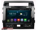 Штатная магнитола Toyota Land Cruiser 200 2008-2010 - Android 4.4.4 - KLYDE