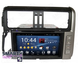 Штатная магнитола Toyota Land Cruiser Prado 150 2009-2013 - Android 6.0 - SMARTY Trend