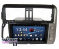 Штатная магнитола Toyota Land Cruiser Prado 150 2009-2013 - Android 7.1 (8.0) - SMARTY Trend