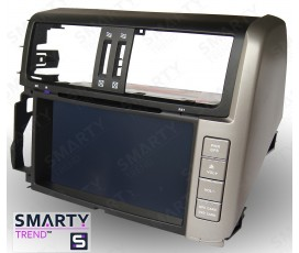Штатная магнитола Toyota Land Cruiser Prado 150 2009-2013 - Android 8.1 (9.0) - SMARTY Trend