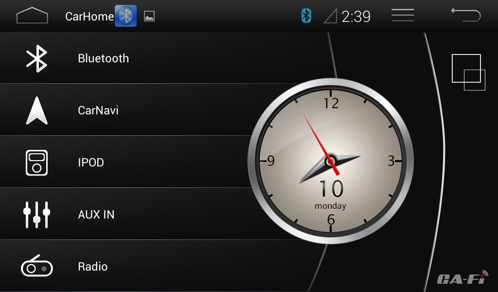 Dashlinq4 Android 4 System Interface