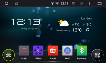 Klyde Android home screen