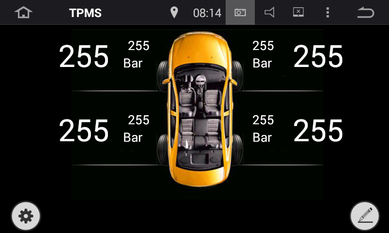 TPMS Android application Klyde