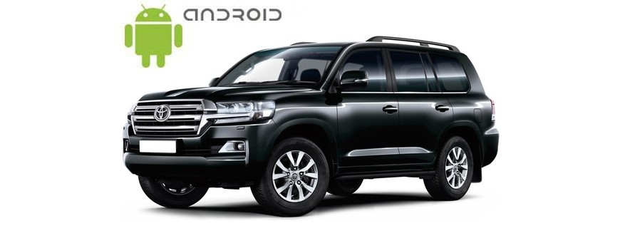 Пример установки Android магнитолы SMARTY Trend в Toyota Land Cruiser 200 2015+