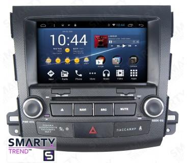 Штатная магнитола Peugeot 4007 - Android 8.1 (9.0) - SMARTY Trend