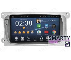 Штатная магнитола Ford Focus II 2009-2011 - Android 4.4 / 5.1 - SMARTY Trend