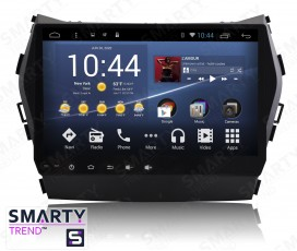 Штатная магнитола Hyundai Santa Fe IX45 2012-2016 - Android 4.4 / 5.1 - SMARTY Trend