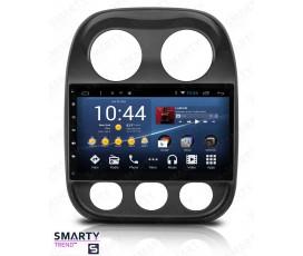 Штатная магнитола Jeep Compass - Android 8.1 (9.0) - SMARTY Trend