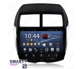 Штатная магнитола Mitsubishi ASX 2010-2012 - Android 8.1 (9.0) - SMARTY Trend