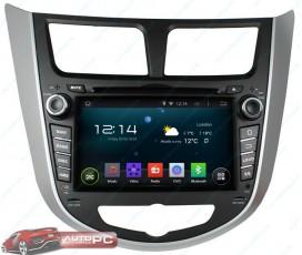 Штатная магнитола Hyundai Accent / Solaris / Verna - Android 5.1.1 - KLYDE