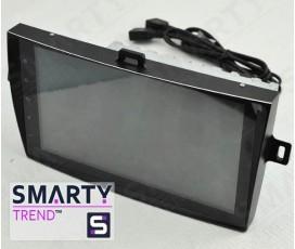 Штатная магнитола Toyota Corolla 2007-2013 - Android 6.0 - SMARTY Trend