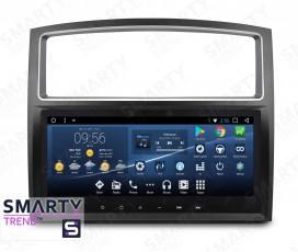 Штатная магнитола Mitsubishi Pajero - Android 7.1 - SMARTY Trend