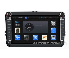 Штатная магнитола Volkswagen Touran - Android 4 - CA-FI Dashlinq4