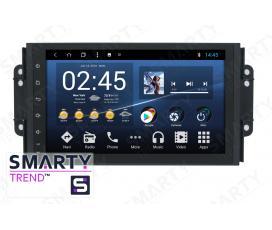 Штатная магнитола Chery Tiggo 3x - Android 8.1 (9.0) - SMARTY Trend
