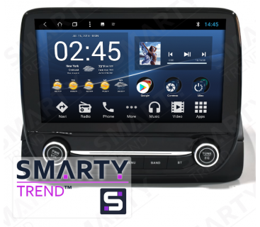 Штатная магнитола Ford Ecosport 2017 - Android 8.1 (9.0) - SMARTY Trend