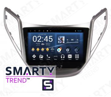 Штатная магнитола Hyundai HB20 - Android 8.1 (9.0) - SMARTY Trend