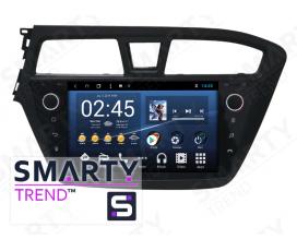 Штатная магнитола Hyundai i20 - Android 8.1 (9.0) - SMARTY Trend