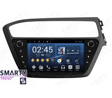 Штатная магнитола Hyundai i20 2018+ - Android 8.1 (9.0) - SMARTY Trend