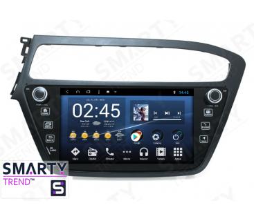 Штатная магнитола Hyundai i20 Europe - Android 8.1 (9.0) - SMARTY Trend