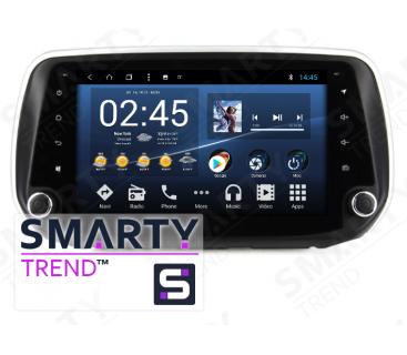 Штатная магнитола Hyundai Santa Fe IV 2018+ - Android 8.1 (9.0) - SMARTY Trend