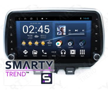 Штатная магнитола Hyundai Tucson 2019+ - Android 8.1 (9.0) - SMARTY Trend