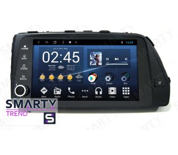 Штатная магнитола Hyundai Accent   Solaris   Verna 2017+ - Android 8.1 (9.0) - SMARTY Trend