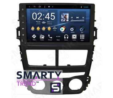 Штатная магнитола Toyota Yaris 2018+ - Android 8.1 (9.0) - SMARTY Trend