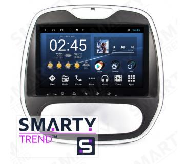 Штатная магнитола Renault Captur - Android 8.1 (9.0) - SMARTY Trend