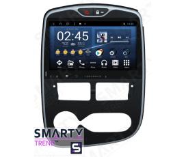 Штатная магнитола Renault Clio 2012-2018 Manual - Android - SMARTY Trend