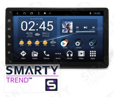 Штатная магнитола Renault Duster - Android 8.1 (9.0) - SMARTY Trend