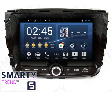 Штатная магнитола SsangYong Rexton W 2018+ - Android 8.1 (9.0) - SMARTY Trend