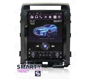 Штатная магнитола Toyota Land Cruiser 200 2008-2015 (Tesla Style) - Android 6.0 - SMARTY Trend