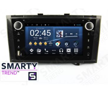 Штатная магнитола Toyota Avensis 2010-2014 - Android 8.1 (9.0) - SMARTY Trend