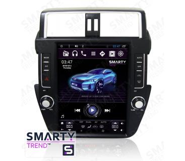 Штатная магнитола Toyota Land Cruiser Prado 150 2014-2017 (Tesla Style) - Android 6.0 - SMARTY Trend
