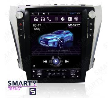 Штатная магнитола Toyota Camry V55 2014-2015 (Tesla Style) - Android 6.0 - SMARTY Trend