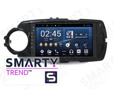Штатная магнитола Toyota Yaris 2017+ - Android 8.1 (9.0) - SMARTY Trend