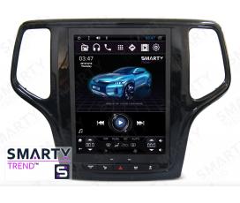 Штатная магнитола Jeep Grand Cherokee 2013+ (Tesla Style) - Android 6.0 - SMARTY Trend