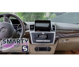 Штатная магнитола Mercedes Benz ML-Class (W166) 2011-2015 - Android 7.1 - SMARTY Trend