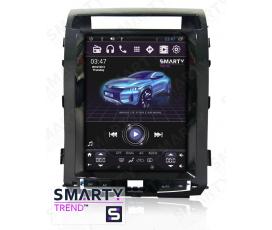 Штатная магнитола Toyota Land Cruiser 200 2008-2015 Максимальная комплектация (Tesla Style) - Android 6.0 - SMARTY Trend